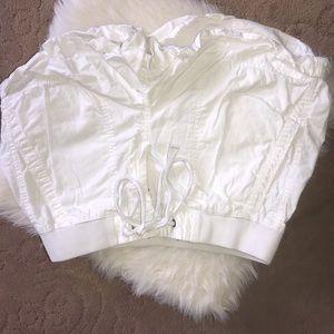 Lou & Grey XS White Shorts